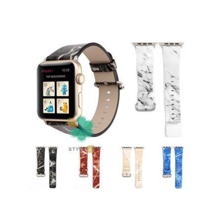 قیمت بند ساعت هوشمند اپل واچ 7 Apple Watch 7 45mm طرح سنگ