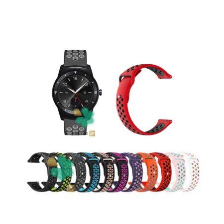 قیمت بند ساعت ال جی LG G Watch R W110 سیلیکونی نایکی