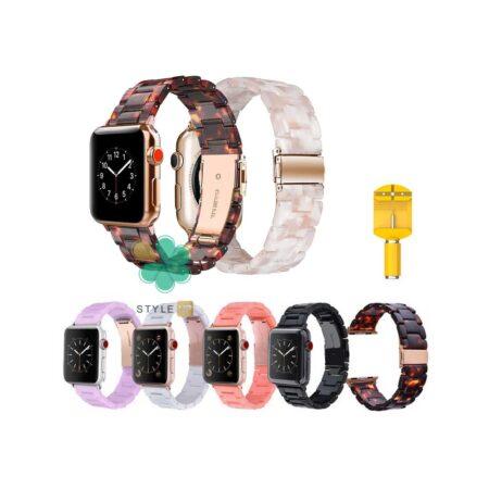 قیمت بند ساعت اپل واچ 7 - Apple Watch 7 41mm مدل رزینی
