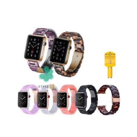 قیمت خرید بند ساعت اپل واچ 7 - Apple Watch 7 45mm مدل رزینی