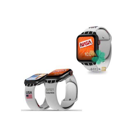 قیمت بند سیلیکونی ساعت اپل واچ Apple Watch 7 41mm مدل Nasa