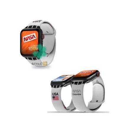 قیمت بند سیلیکونی ساعت اپل واچ Apple Watch 7 45mm مدل Nasa