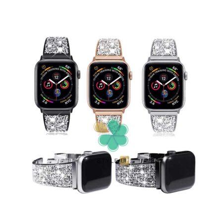 قیمت بند استیل ساعت اپل واچ 7 - Apple Watch 7 41mm مدل سواروسکی