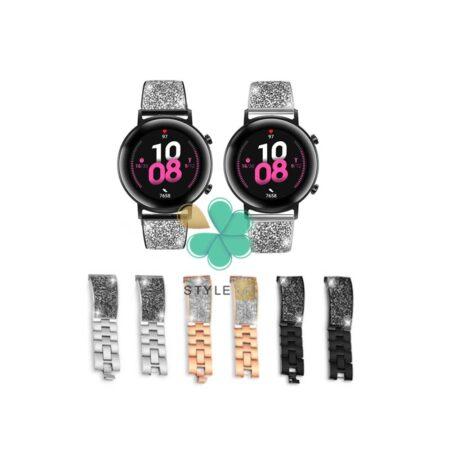 قیمت بند استیل ساعت هواوی واچ Huawei Watch GT 2 42mm مدل سواروسکی