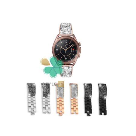قیمت بند استیل ساعت سامسونگ Samsung Galaxy Watch 3 41mm مدل سواروسکی