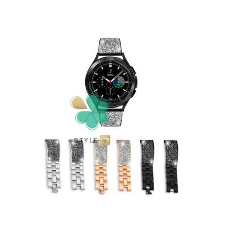 قیمت بند استیل ساعت سامسونگ Galaxy Watch 4 Classic مدل سواروسکی