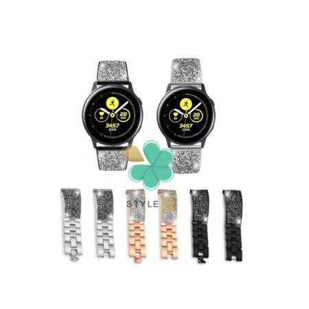 قیمت بند استیل ساعت سامسونگ Samsung Galaxy Watch Active مدل سواروسکی