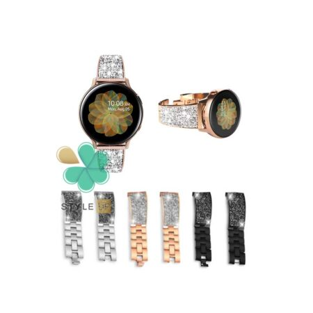 قیمت بند استیل ساعت سامسونگ Samsung Galaxy Watch Active 2 مدل سواروسکی