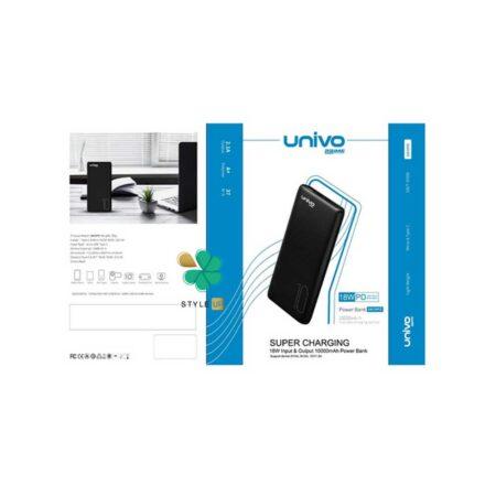 خرید پاور بانک یونیوو 10000 مدل Univo UN10PD