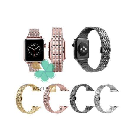 قیمت بند استیل ساعت اپل واچ Apple Watch 7 41mm مدل Wearlizer