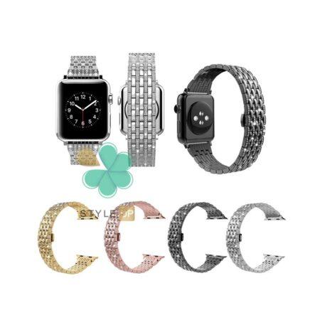 قیمت بند استیل ساعت اپل واچ Apple Watch 7 45mm مدل Wearlizer