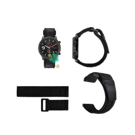 قیمت بند ساعت شیائومی Xiaomi Amazfit GTR Lite مدل نایلون چسبی